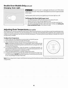 Frigidaire Fgb24l2aba User Manual Gas Oven Manuals And