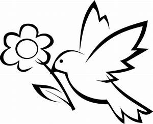 Free coloring pages of simple flowers to draw