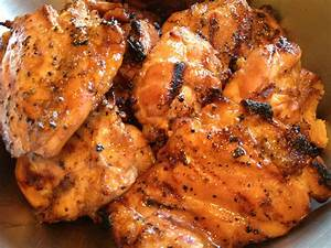 asian glazed and grilled chicken recipe the brown lounge