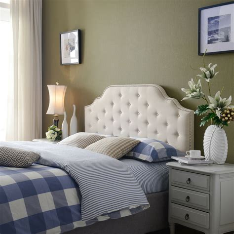 Fabric Headboard by Kanadic Beige Fabric Headboard Ebay