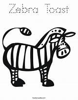 Zebra Coloring Zoo Worksheet Saw Toast Trip Sheet Noodle Twistynoodle Twisty Handwriting Built California Usa Outline Cursive Printable Login Favorites sketch template