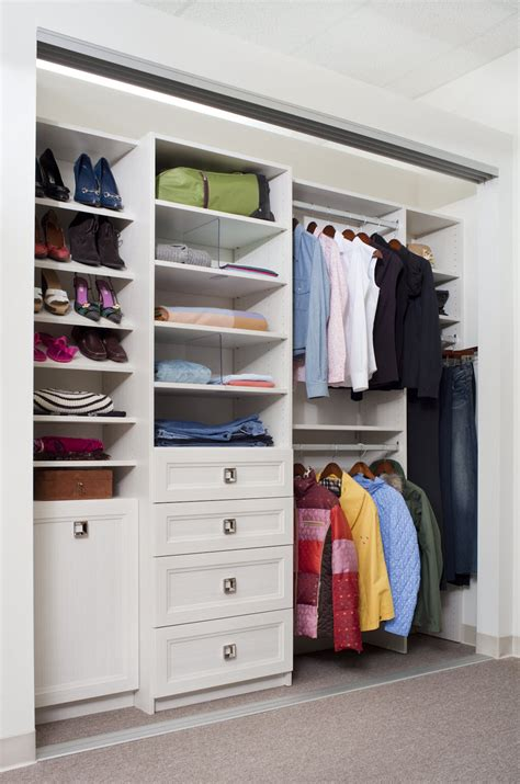 In Closet by Walk In Reach In Closet Systems In The Eastern