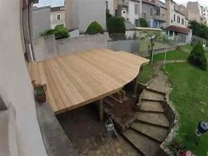 terrasse suspendue youtube With terrasse en bois suspendue