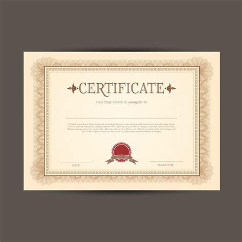 zertifikat oder diplom vorlage  der kostenlosen