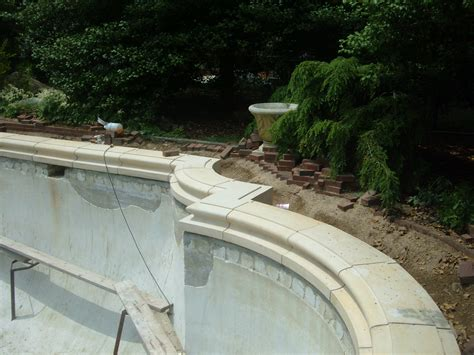 concrete pool coping search pools