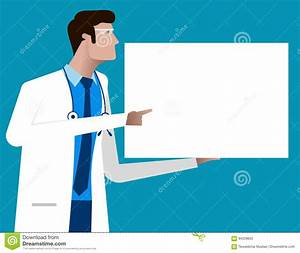 Doctor Giving Advice, Character Cartoon Of Hospital ...