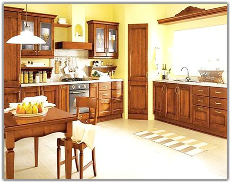 kitchen cabinets wall color yellow kitchen cabinets what color walls home design ideas 8562