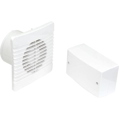 100mm Selv 12v Low Profile Extractor Fan Humidistat