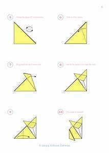 Origami Fox Variation Diagrams