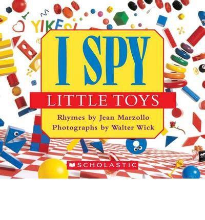 I Spy Little Toys  Jean Marzollo 9780545220965