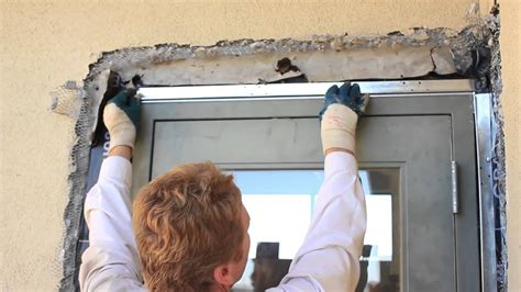 installing stucco  trim casing beads  commercial lath