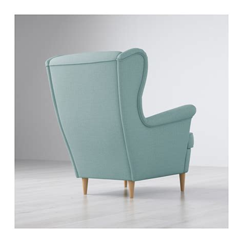 Strandmon Wing Chair Light Grey by Ikea Wingback Chair Best Home Design 2018