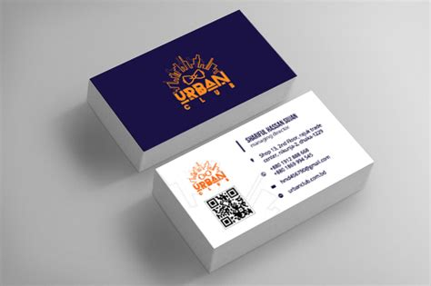 urban club bangladesh business card mockup  images