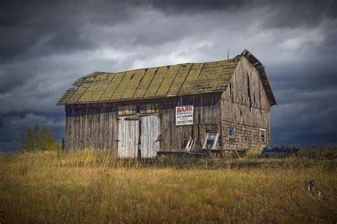 Old Wooden Barn For Sale A Fine Art Wall Decor Photograph