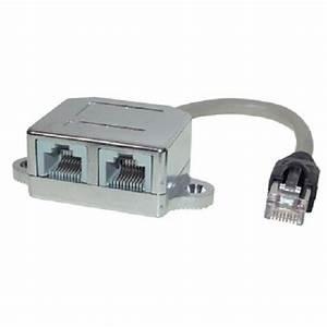 Lan Verteiler Test : 2x netzwerkkabel anschlussverdoppler splitter lan netzwerk verteiler t adapter ebay ~ Orissabook.com Haus und Dekorationen