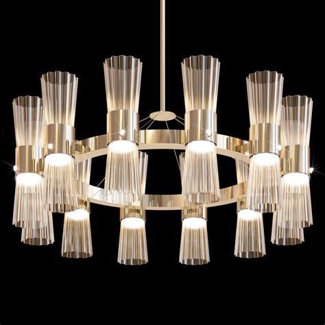 modern gold leaf murano glass chandelier juliettes
