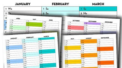 printable  calendars lovely planner
