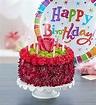 Birthday Wishes Flower Cake Purple - Conroy's Flowers Cypress