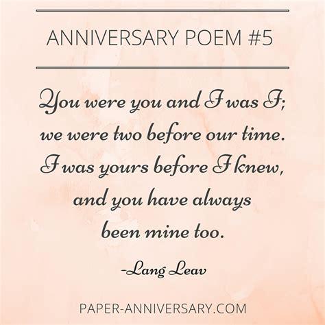 epic anniversary poems   readers favorites