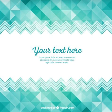 turquoise template turquoise geometric template vector free download