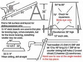 a frame plans free woodwork a frame porch swing plans pdf plans