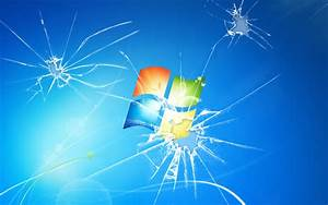 (10260) Windows 7 Broken Screen Full HD Wallpaper