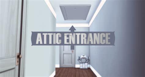 attic entrance door  onyx sims sims  updates