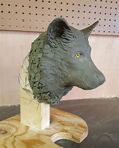 How To Create A Gray Wolf Sculpture