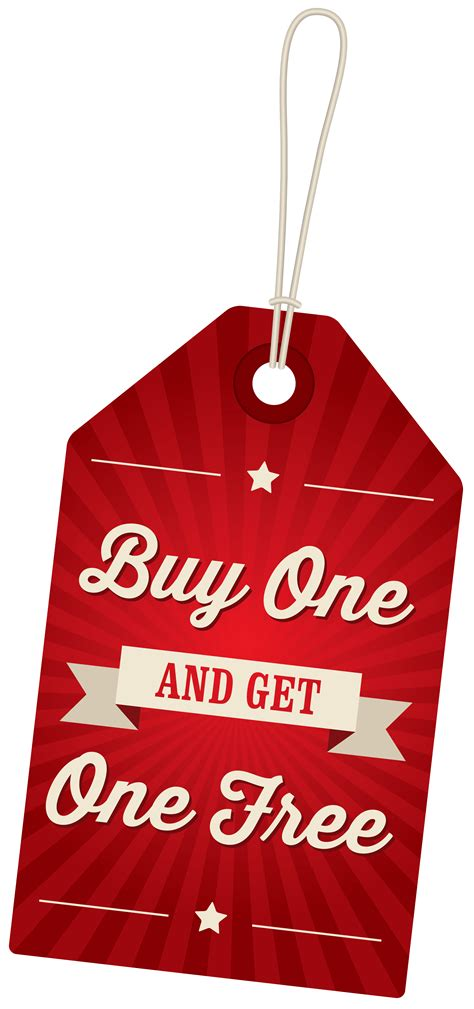 buy clipart buy one get one free label png clipart image gallery