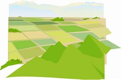 Land Vector Clipart Farmland Agriculture Farming Arable
