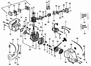 Weed Eater Diagram  U0026 Parts List For Model Featherlitext25