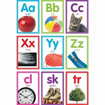 Alphabet Cards Bb Board Bulletin Colorful Teacher