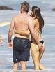 Gerard Butler, Girlfriend Morgan Brown Get Handsy at Beach ...