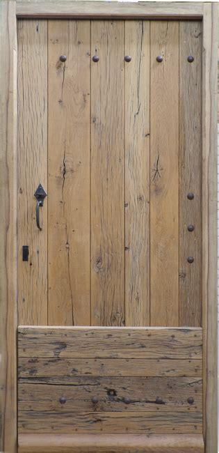 porte d entrée en bois massif porte d entr 233 e bois massif vieux ch 234 ne