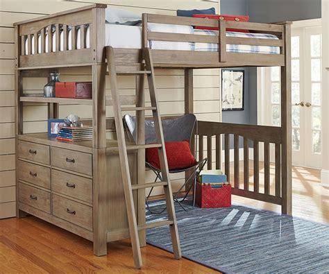 boys loft bed with desk top full size loft bed with desk loft bed pinterest