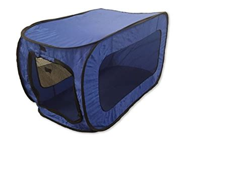 beatrice home fashions rover in clover beatrice home fashions solppk00blu pop up pet kennel blue rover in clover