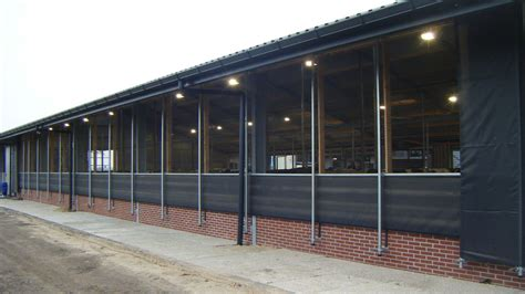 Curtains For Barns & Milking Parlors