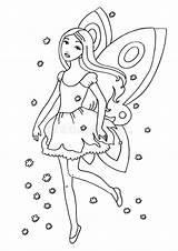Fairy Coloring Pagina Coloration Kleurende Coloritura Farbton Feenhafte Seite Livre Leggiadramente Lion Strato Divertenti Cani Tre Bambini Pug Leuke Visit sketch template