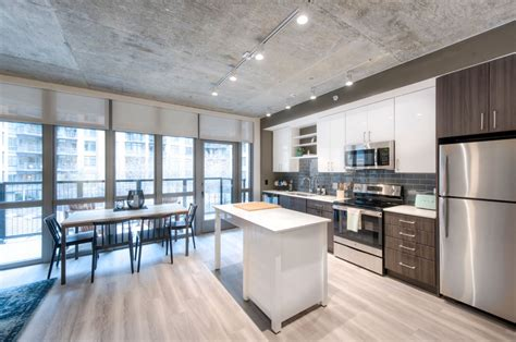 luxury apartment  noma   industrial chic lovers dream dc refined
