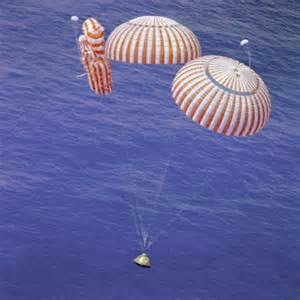 Apollo 15 Splashdown - Failed Parachute | National Air and ...