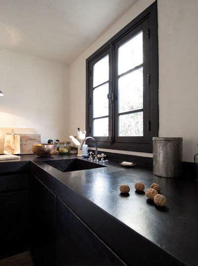 mitigeur cuisine noir avec douchette plan de travail cuisine en 71 photos idées inspirations