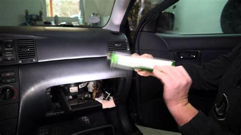 luftfilter und innenraumfilter richtig einbauen wechseln