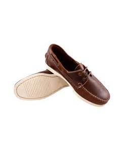 Brown with White Sole Shoes