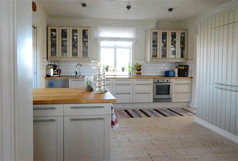 scandinavian country kitchen swedish country house charming home tour town country 2110