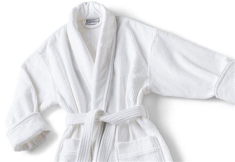 mini stripe bathrobe boca terry