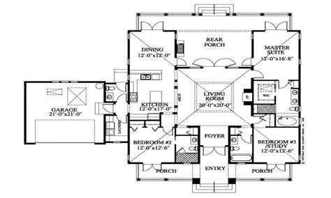 southern plantation floor plans southern style homes plantation style house floor plan