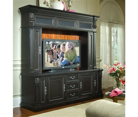 tv stand 80 inch weybridge 80 inch tv console hutch in madera cherry and