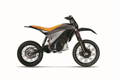 An Electric 2wd Supermoto