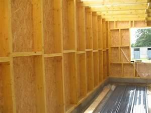 Construire Un Garage En Bois Soi Meme : d couvrez les bases de l 39 ossature bois partie 1 reussir ses travaux ~ Dallasstarsshop.com Idées de Décoration