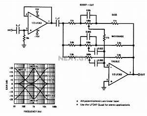 audio tone balance circuit audio circuits nextgr With tone circuit